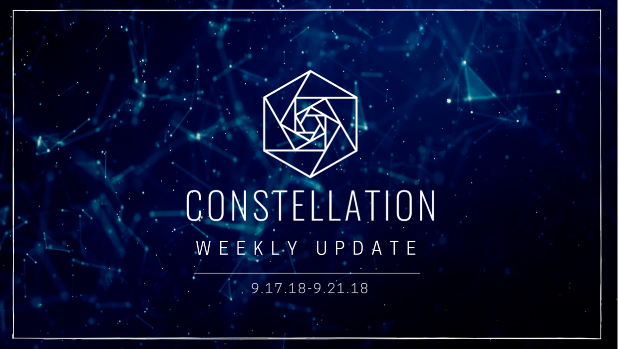 Constellation Update –  MOBI Sponsorship, Engineering News, Upcoming Events & More