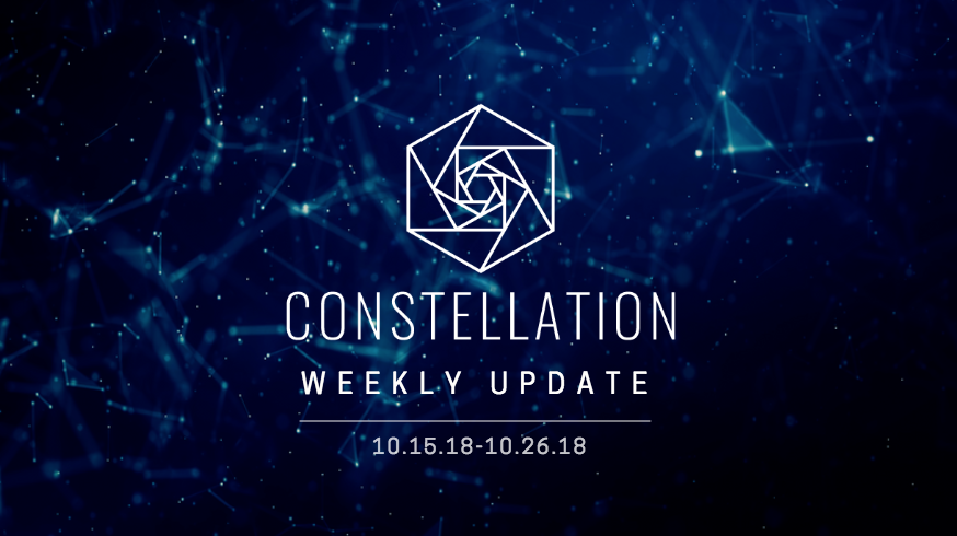 Constellation Update – Engineering Updates, Panel and MeetUp Recaps, Airdrop 4 Update, Upcoming Events & Recent Articles