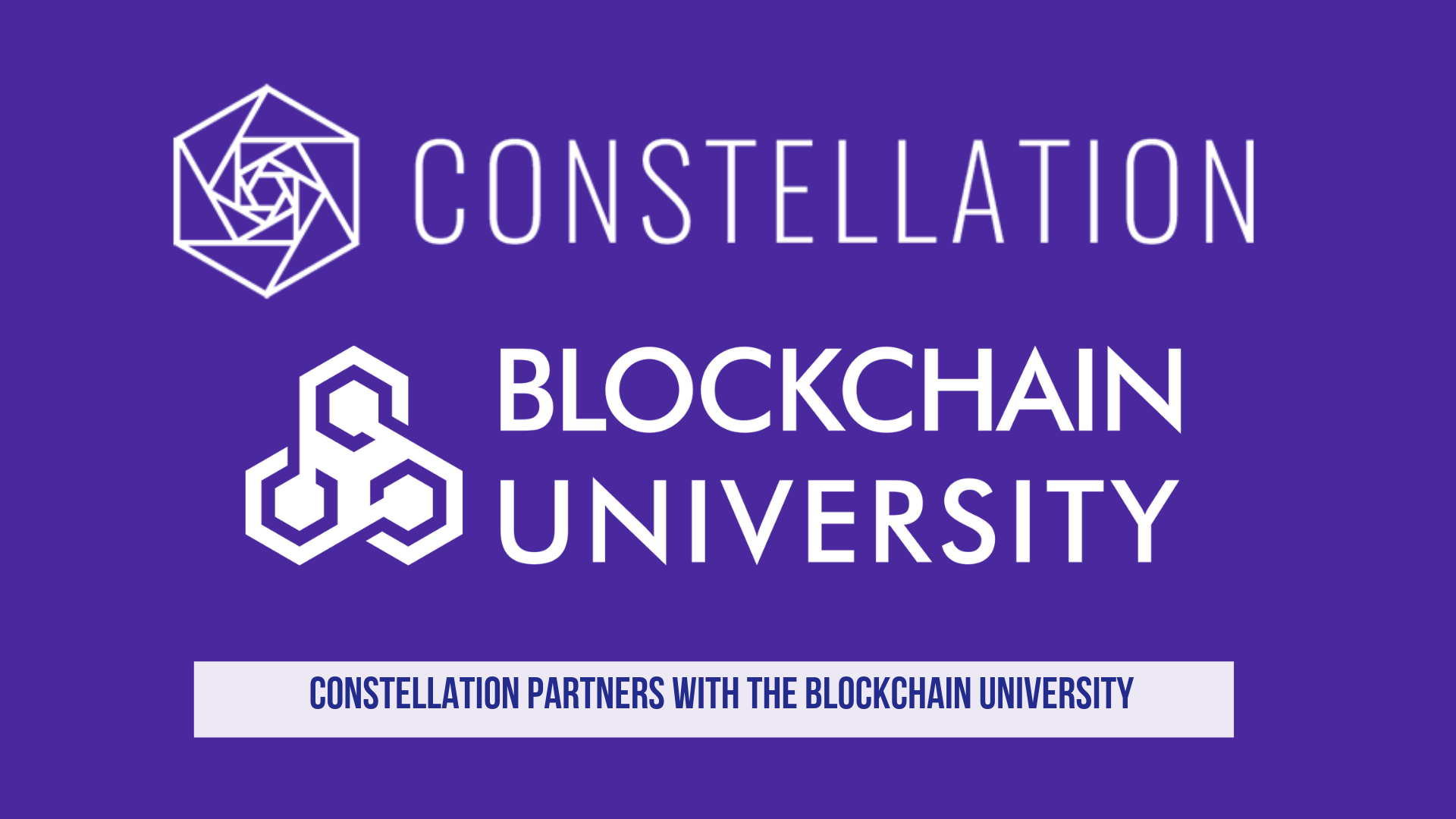 Constellation Partners with The Blockchain University