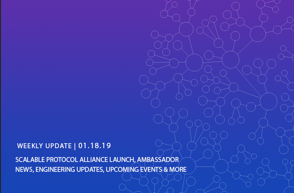 Constellation Update – Scalable Protocol Alliance Launch, Ambassador News, Engineering Updates, Upcoming Events & More